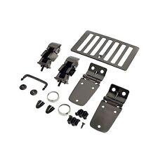 Jeep Wrangler 98-06 TJ hood Kit  black chrome hinges vent latches 7965 11180.07
