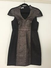Tibi Metallic fitted Dress -  Perfect Party Dress