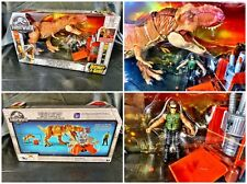 USA SELLER!! NEW Jurassic World Destruct-a-saurs T-Rex Tyrannosaurus Ambush Set