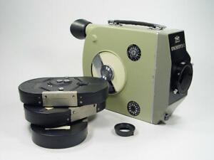 16mm zoom reflex cine movie camera body Krasnogorsk-2 bayonet  s/n 7500148