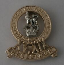 Danbury Mint Cap Badge for The King's Royal Hussars - staybrite anodised (170)
