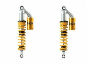 PAIR OHLINS SHOCKS S36PL YELLOW SPRINGS MOTO GUZZI V7 CLASSIC