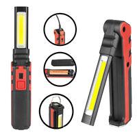 Work Lamp Flash Front+Side Magnetic  Work Light with Hook COB LED USB Charging K