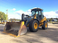 2012 DEERE 544K WHEEL LOADER 3500HRS DEERE COUPLER CAB HEAT/AC 3 YD BUCKET