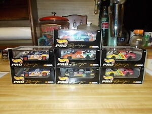 Lot of 5 Hot Wheels NASCAR Die-Cast Car 1:43 Pro Racing Select Petty Burton 1997