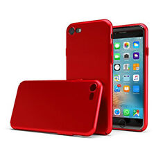 COVER CUSTODIA TPU EFFETTO MATAL RED PER APPLE IPHONE 6 / 7 / 8