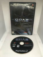 Dead Or Alive 2 - DOA 2 - Case and Disc - Cleaned & Tested - Playstation 2 PS2