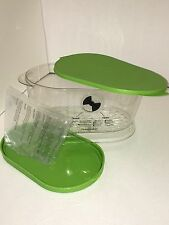 NEW Produce Keeper PrepSolutions Clear/green, LKS-06 and Plastic 4.7 Qt Capacity