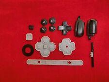 ORIGINALE Nintendo 3ds XL buttons, pulsanti, tasti di gomma, rubber pad, parti chassis