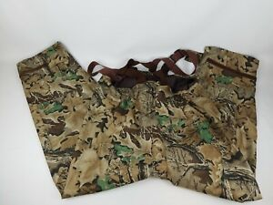 Remington Fishing Duck Hunting Overalls Waders Camouflage Size Large (36-38)