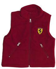 Ferrari Kids Fleece Gilet. 2-3 ans