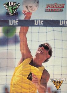 1990 PRO BEACH VOLLEYBALL POCKET SCHEDULE