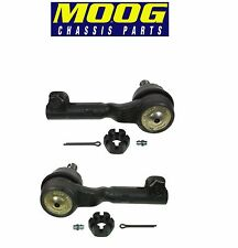 For BMW E90 E84 325 330 X1 Pair Set of Front Outer Left&Right Tie Rod Ends Moog
