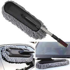 Large Car Cleaning Duster Home Wax Treated Brush Air Microfiber Pad Handle Big