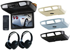 "Boss Bv12.1Mch 12.1"" Lcd Dvd Car/Suvflip Down Roof Mount Monitor Tv Ir Av Hdmi"