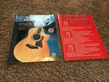 Sheet Music - Lot Of 2 Books - Guitar Christmas Favorites - Alfred'S Basic Guita