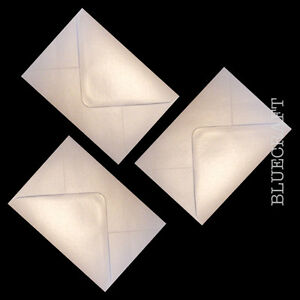 C7 Oyster White Pearlescent Envelopes 100gsm - All Quantities