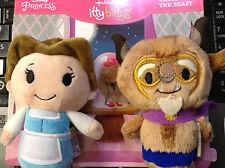 Hallmark itty bittys BELLE & THE BEAST~Beauty/Disney Princess~New