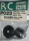Nichimo RC PO23 Diff + Case + Ring Bevel Gear +drive Bevel Gear Vintage New