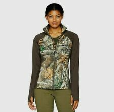 Under Armour Artemis Womens Hybrid Jacket Small Realtree Camo ColdGear Infrared