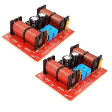 High quality 3Way 3 Unit Hi-Fi Speaker Audio Frequency Divider Crossover Filters