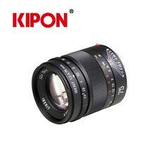 KIPON IBERIT 75mm F2.4 Full Frame Camera Lenses for Leica M Mount
