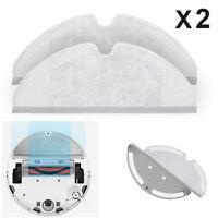 2Pcs Mop Cloths For Xiaomi Roborock S50 Vacuum Cleaner Clean Pads Dry/Wet Parts