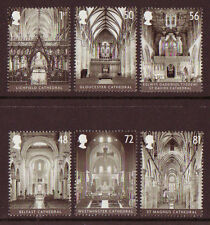 GREAT BRITAIN 2008 CATHEDRALS SET OF 6 UNMOUNTED MINT, MNH