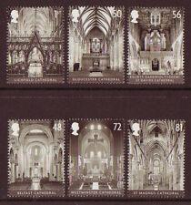 Gran Bretaña 2008 Catedrales Set De 6 Menta desmontado, Mnh