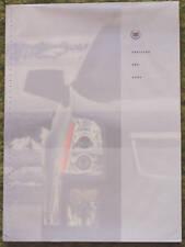 Original 2004 Cadillac SRX Sales Brochure 04