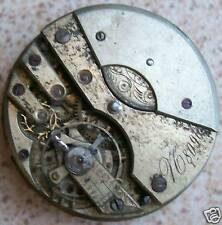 V.C. 8096 rare Pocket watch movement 40 mm. in diameter some parts missing