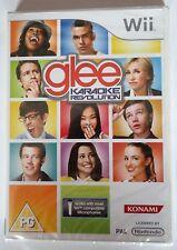 Glee Karaoke Revolution Vol 1 Wii Cantando Solus Juego Nuevo Y Sellado Uk