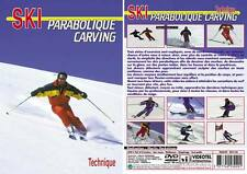 DVD Le ski parabolique carving : technique  - Ski alpin - Sport Loisirs