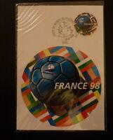 FRANCE PREMIER JOUR FDC YVERT  3139     FRANCE  98 FOOTBALL     3F  PARIS   1998