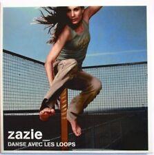 """ZAZIE - CD SINGLE PROMO - """"DANSE AVEC LES LOOPS"""""""