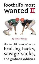 Football's Most Wanted II: The Top 10 Book of More Bruising Backs,-ExLibrary