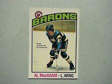 1976/77 O-PEE-CHEE NHL HOCKEY CARD #237 AL MACADAM NM SHARP!! 76/77 OPC