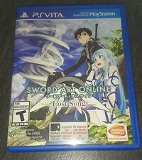 SWORD ART ONLINE LOST SONG PS VITA Code Frei Regionfree Englisch NEU