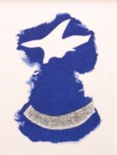 "Georges BRAQUE LTD ED VINTAGE montato litografia, Mourlot, 1963, 10 x 8"" GB087"