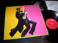 "Clarence Clemons ‎""A Night With Mr. C"" LP inner CBS ‎– 461169 1 Netherlands 1989"
