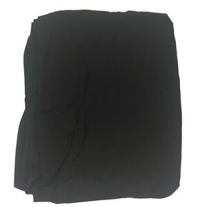 Target Room Essentials Black Queen Size Fitted Sheet Cotton Polyester Blend