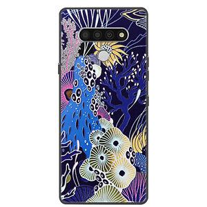 For LG G8X G7 ThinQ K51 K50 Q70 Case Retro Painted Slim Soft Silicone TPU Cover