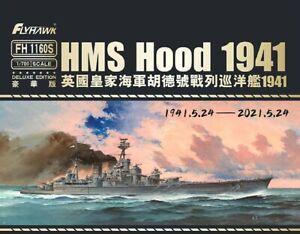 Flyhawk 1/700 1160S HMS Battle Cruiser Hood 1941