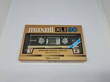 Maxell XLII 90 Cassette Tape (Sealed)