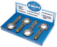 "EMPI 8311 H-BEAM 5.5"" VW JOURNAL CONNECTING RODS VW BUG T1 AIR COOLED ENGINE BUS"