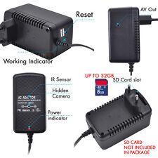 AC Power Adapter Hidden DVR 720P Spy Motion Detection DVR