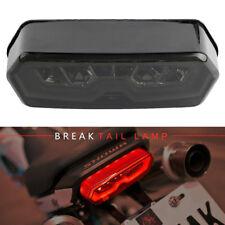 Feu LED Frein Feu Arrière Moto + clignotants intégrés Pour Honda Grom MSX 125
