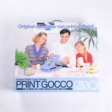 RISO Print Gocco B6 Hi Mesh Set High Resolution Instant Multi-Color Printer Ink