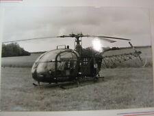 "Photo Aerospitale Alouette ll ""HEER"" (GER) Open Dag KLu VLB Deelen 1978"