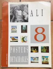 DALI: Portfolio contenant 8 posters détachables (30x40) - HAZAN/Grand angle